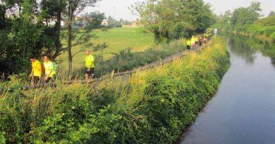 Camminata Milano – Pavia 2020, lungo l'Alzaia del Naviglio