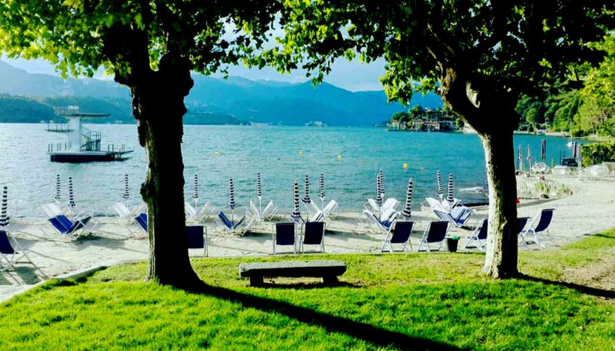 Spiagge sul lago d 39 orta dove fare il bagno in assoluto relax - Lago di bolsena dove fare il bagno ...