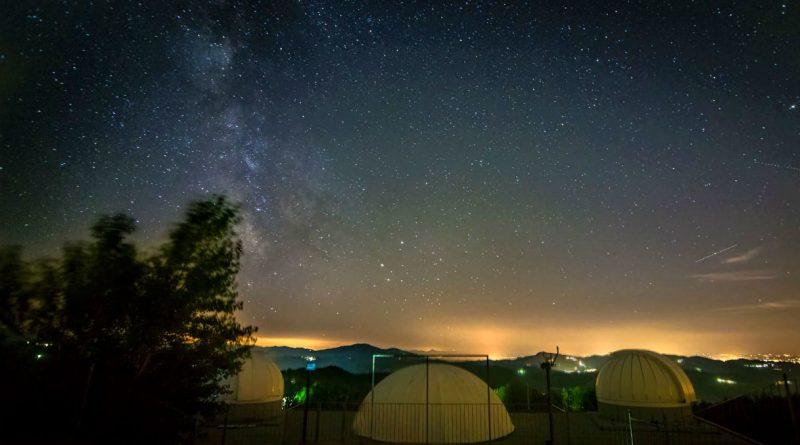 FOTO TRATTA DALLA PAGINA FACEBOOK OSSERVATORIO ASTRONOMICO CA' DEL MONTE