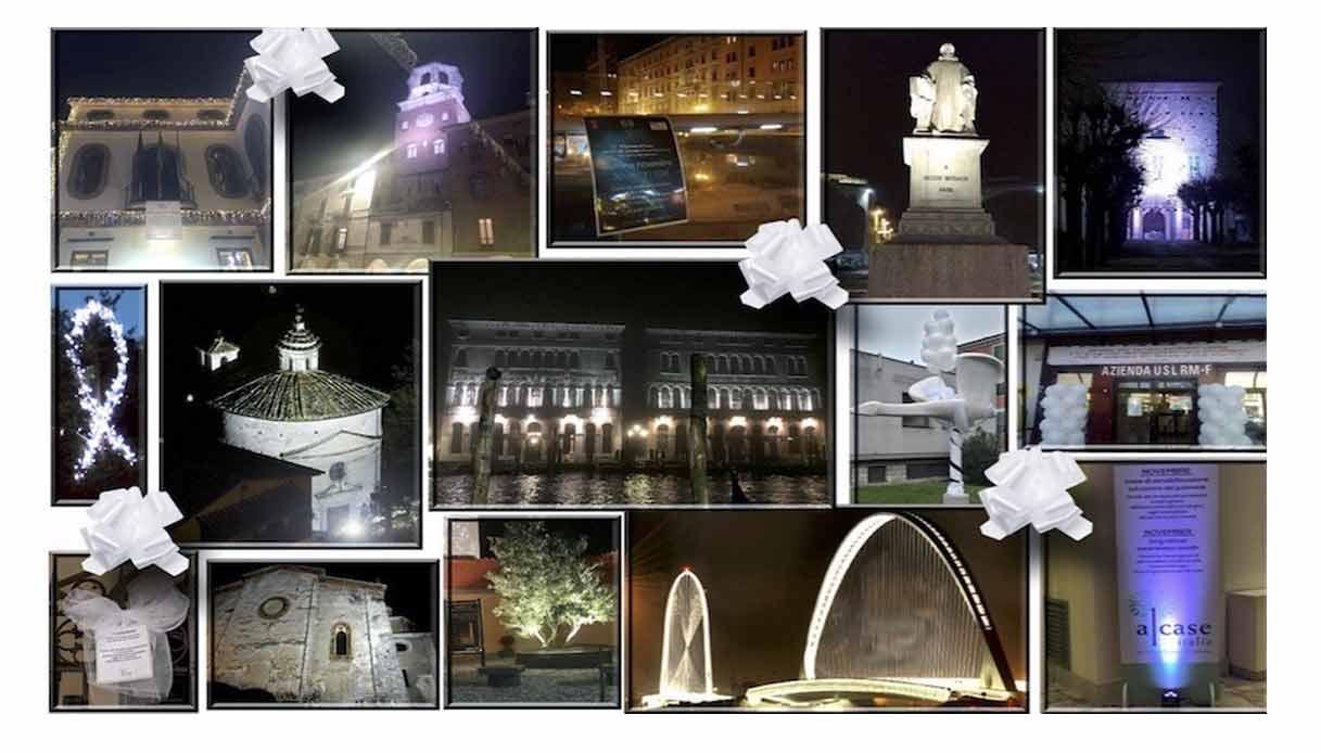 Pavia, Statua della Minerva si illumina di bianco contro il cancro al polmone - Quatarob Pavia