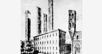 """La leggenda della strana """"Torre del pizzo in giù"""" di Pavia"""